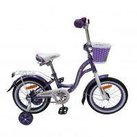 Велосипед 12  Nameless LADY, фиолетов/белый