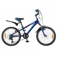 Велосипед 20  Новатрек AH6V.LUMEN.BL8 синий АЛ 6-скоростей