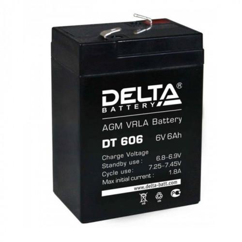 Аккумулятор 6V-6AH 606 DT Delta