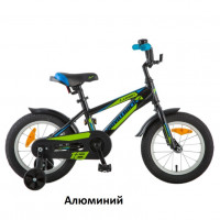 Велосипед 18  Новатрек LUMEN.BK8 чёрный АЛ  нож/т
