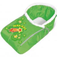 Сиденье для санок с мех. чехлом для ног СС3-2 Комета зелен СС3-2  (10) 75*38см