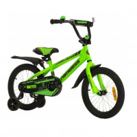 Велосипед 14  Nameless SPORT зелёный/чёрный