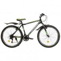 Велосипед 26  NAMELESS S6200 чёрный-зелёный