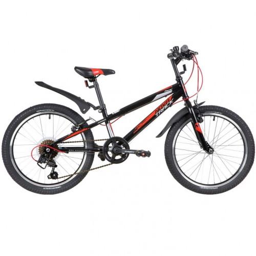 Велосипед 20  Новатрек SH6V.RACER.BK7 6ск чер