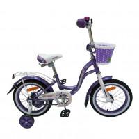Велосипед 16  Nameless LADY, фиолет/белый