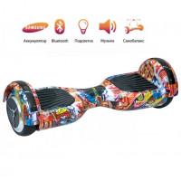 Гироскутер  6,5 Smart  Оранжевый Хип хоп 21Н самобаланс  Whell new