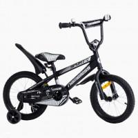 Велосипед 18  Nameless Sport, черный/серебристый