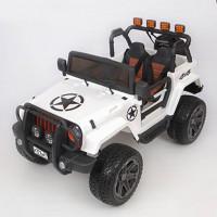 ЭЛЕКТРОМОБИЛЬ Jeep Wrangler 45454 (Р) полный привод (4х4). белый