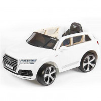 ЭЛЕКТРОМОБИЛЬ Audi Q7 Quattro LUX 45415 (Р) белый, глянцевый