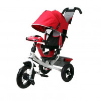 Велосипед 3-х кол. Moby Kids 641087-12red Comfort 12x10 AIR Car 2 крас светомуз