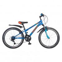 Велосипед  24  Novatrack SH18SV.ACTION.BL6 18ск. синий