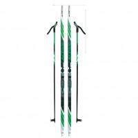 Лыжный комплект NNN креп STC 195см (4)+пал+кр