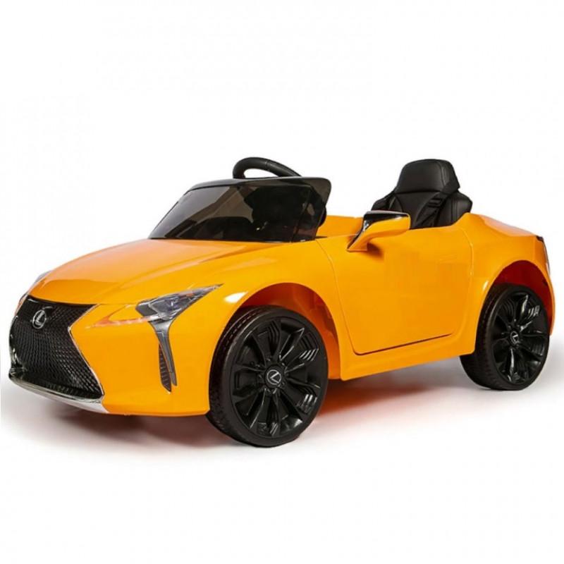 Электромобиль детский LEXUS LICENSE  50506 (Р) оранжевый, глянец