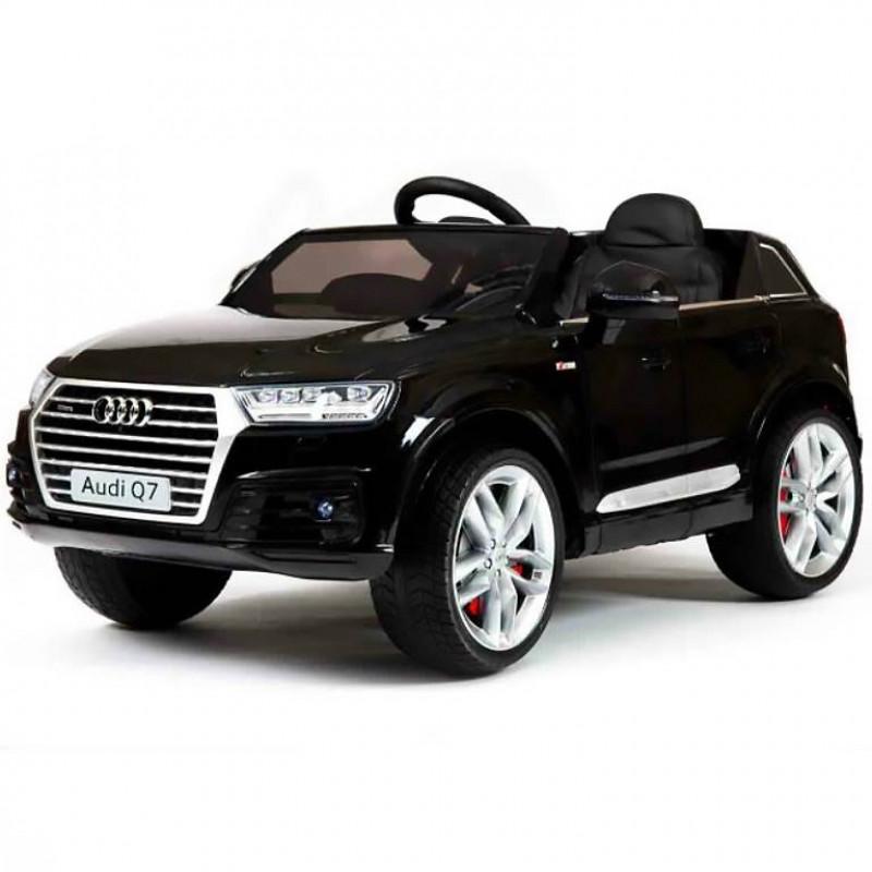 Электромобиль детский Audi Q7 45420 (Р) черный, глянцевый
