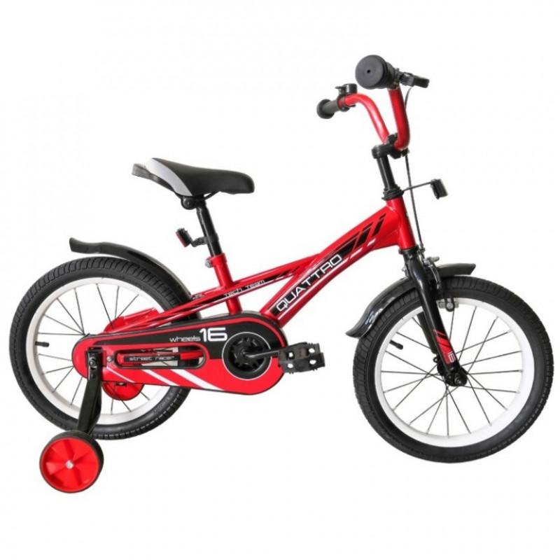 Велосипед 18  Tech Team Quattro красный
