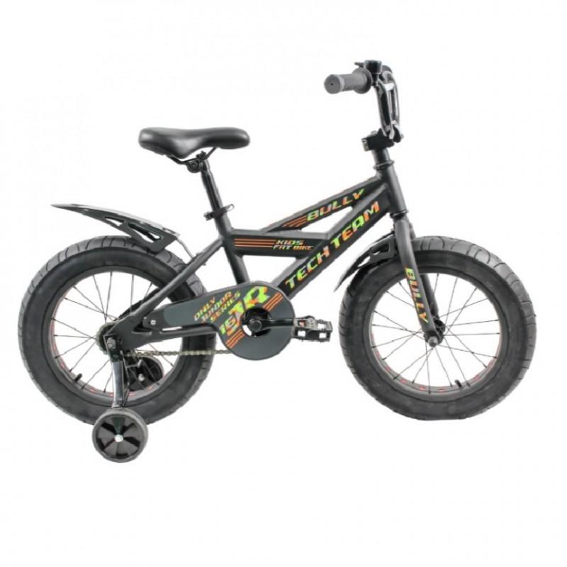 Велосипед 16 Fat bike TT BULLY  Black (P)