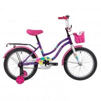Велосипед 18 Novatrack Tetris.VL20  фиолет.нож/т