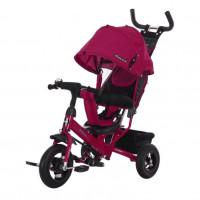 Детский 3-х колёсный велосипед 641344  Comfort 10*8 AIR, вишня