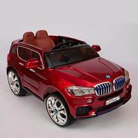 Электромобиль детский BMW X5 45425 (Р) кузов F-15 performance вишневый , глянцевый