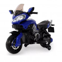 Детский электромотоцикл 42330 синий