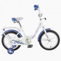 Велосипед 18  TT 18131 бело-синий