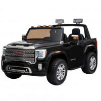 Электромобиль детский Ford GMC 50372 (Р) 4WD двухместный чёрный глянец
