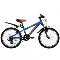 Велосипед 20 Novatrack SH6SV.Extreme.BL9 6ск. синий