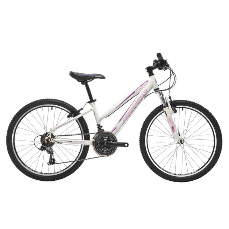 Велосипед 26 Nameless S6200W белый/розовый  рама 15
