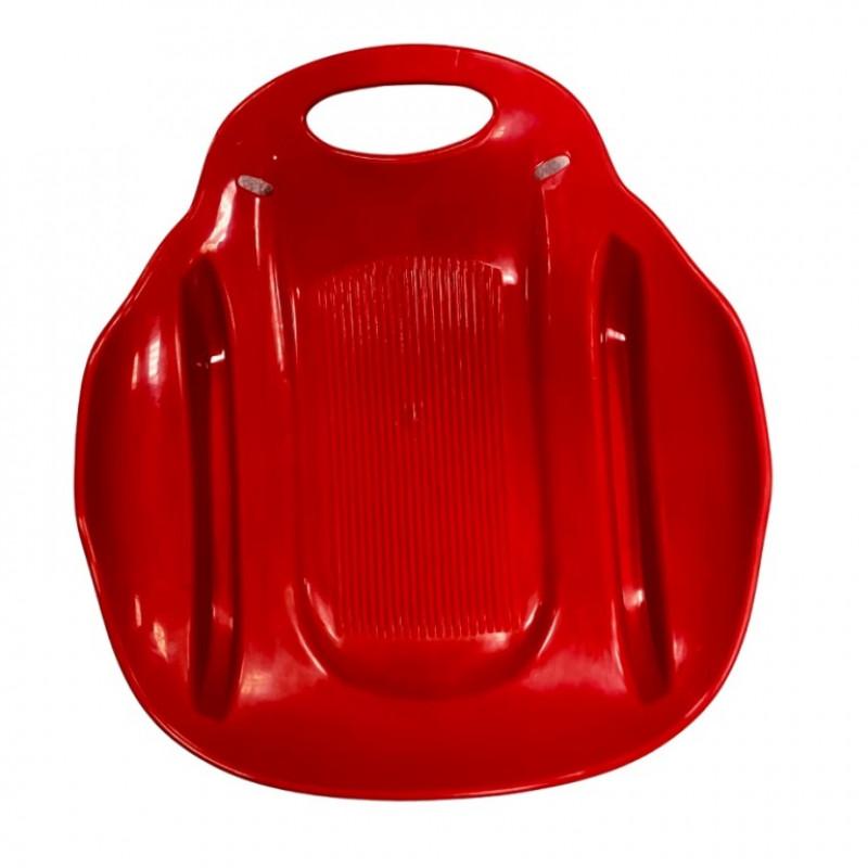 Ледянка  Метеор  ЛД33 51*46см  пластмас. красный (10)