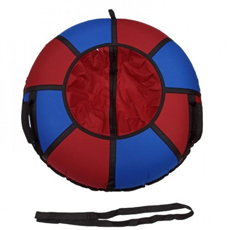 Тюбинг  CH- 90-ТО цвет N3 синий/красный ,цена с камерой д=90см 1/5
