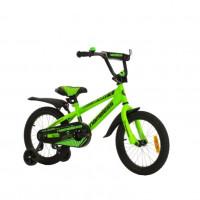 Велосипед 16 Nameless Sport, зеленый/черный