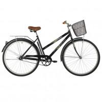 Велосипед 28 Foxx  SHC.FIESTA.20BK1 чёрный+дор. корзина