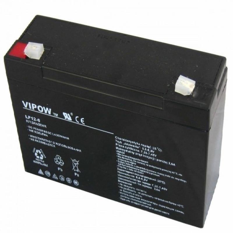 Аккумулятор 6V-12AH 612 DTM
