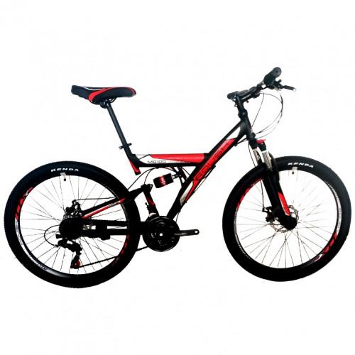 Велосипед 24 Roush 24MD100-2 красный матовый  АКЦИЯ!!!