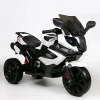 Электромотоцикл детский Мотобайк 47108 (Р) белый