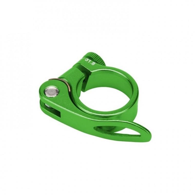 Зажим BLF-Z1 34.9мм подседельной трубы эксцентрик алюминевый зелёный