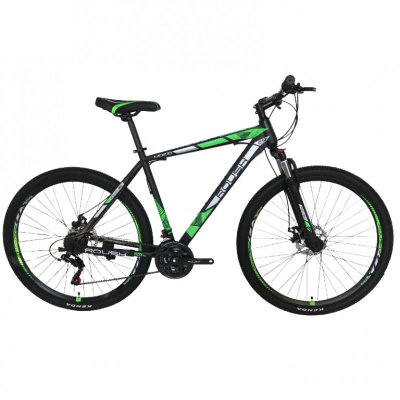 Горный велосипед Roush 29MD210-3 AL Pro зелёный матовый (Алюминий)