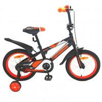 Велосипед 16 Nameless Sport, черный/оранжевый