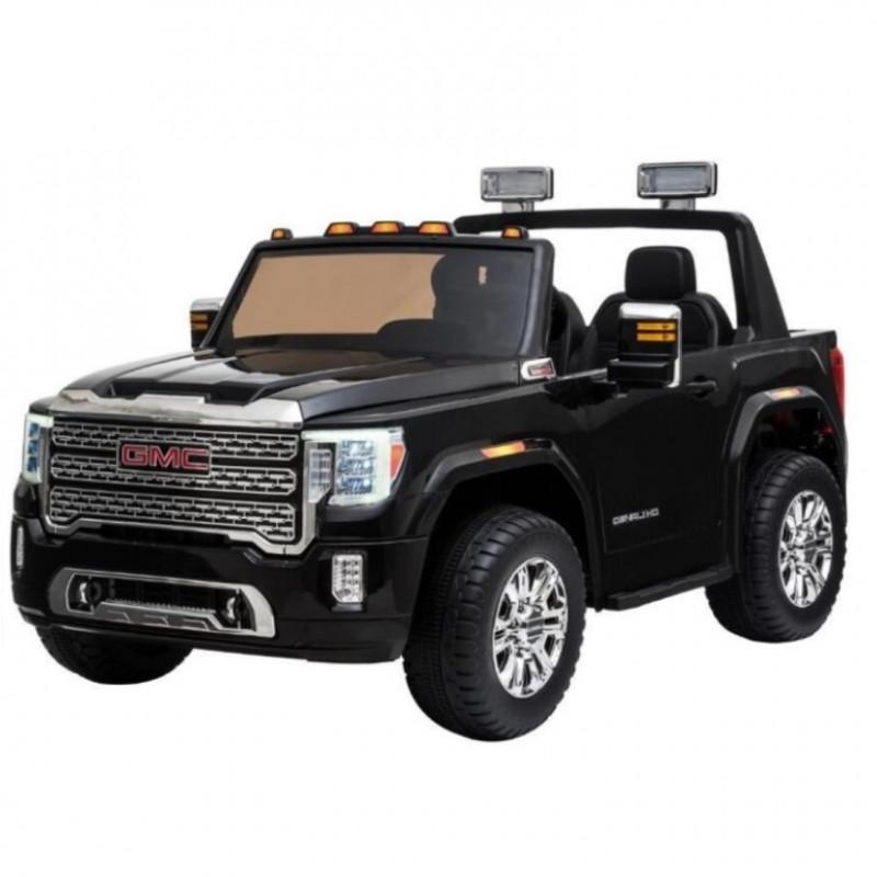 Электромобиль детский Ford GMC 50372  4WD двухместный чёрный глянец (Р)