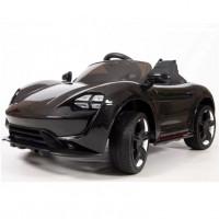 Электромобиль детский Porsche Sport  45503  (Р)  черный-глянец