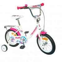 Велосипед 16 Nameless PLAY, Белый/фиолетовый