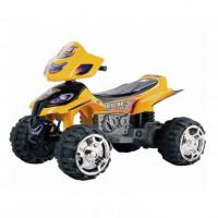 Электроквадроцикл детский EC-W5118C (1) желтый 12в