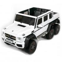 Детский электромобиль Mercedes-Benz G63-AMG 4WD 45476 (Р) шестиколесный белый
