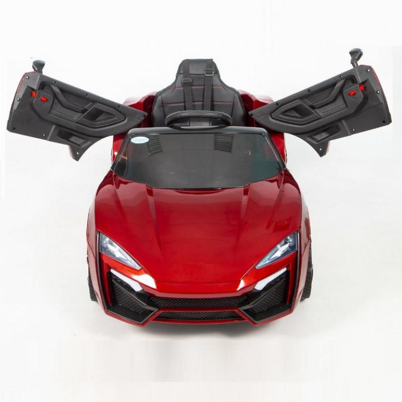 Электромобиль детский Lykan 45462 (Р) красный глянцевый