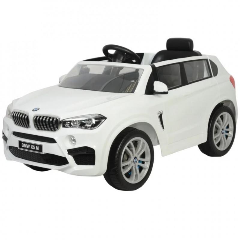 Электромобиль детский BMW X5M Z6661R 51718 (Р) белый