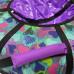 Тюбинг  CH- 85-ГЛАМУР-Сердце фиолетовый в бирюзовом 2022