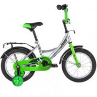 Велосипед 14 Novatrack VECTOR.SL20 серебристый