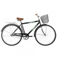 Велосипед 28 Foxx  SHC.FUSION.20BK1 чёрный+дор. корзина