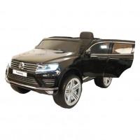 Электромобиль детский Volkswagen Touareg  45517 (Р) (Лицензионная модель) черный-глянцевый