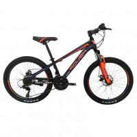 Велосипед 24 Roush 24MD200-1 синий/оранжевый матовый